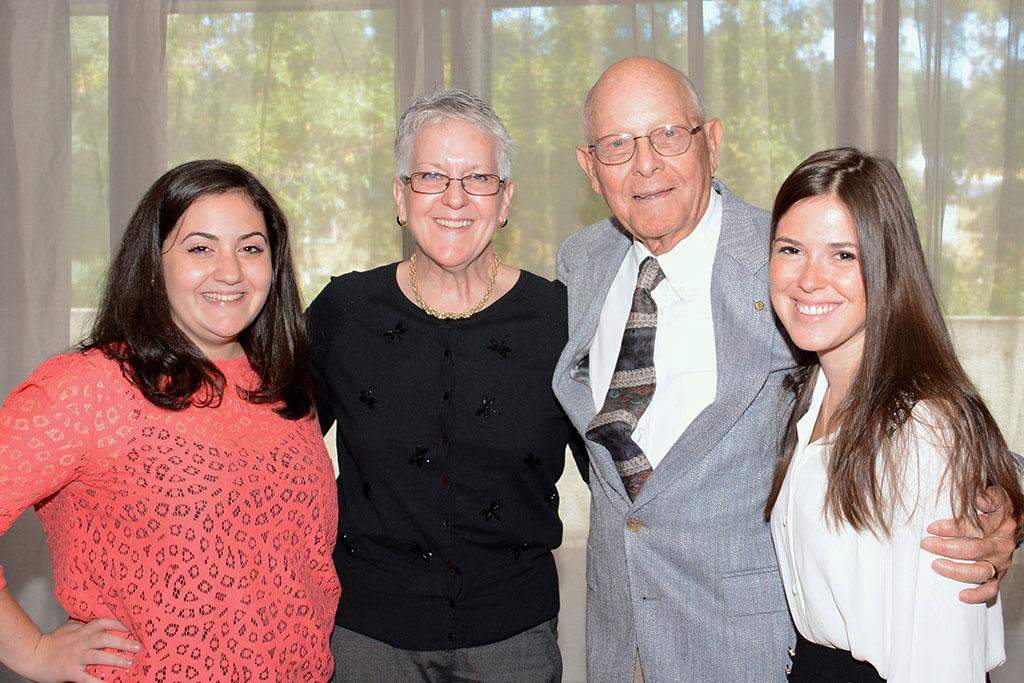 Tal LeGrand is a long-time supporter of SJMC students through the George A. Buchanan Scholarship.