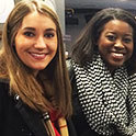 Broadcast journalism students attend RTDNA workshops