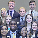 Public relations students attend Real World Conference