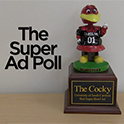 Ad class chooses top spot in Super Bowl