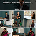 Graduate symposium honors doctoral research and teaching