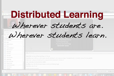 Distributed Learning Video Callout