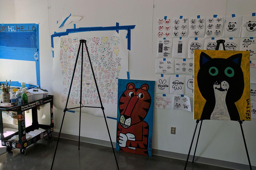 Richland Library has an Artist in Residence Program.
