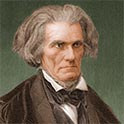 Engraved portrait of John C. Calhoun, white supremacist