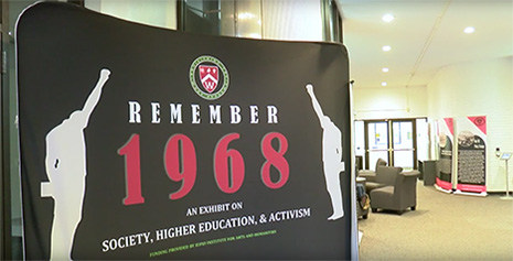 Remember 1968: An exhibition on Society, Higher Education and Racism