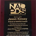 NAPDS names award in honor of Jason Kinsey