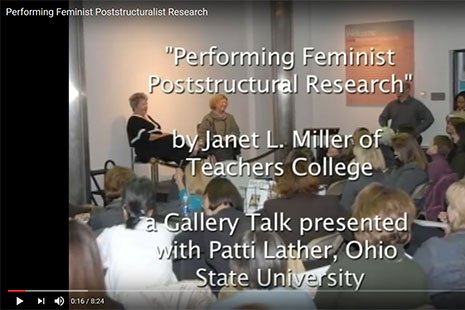 Janet L Miller Performing Feminist Poststructural Research