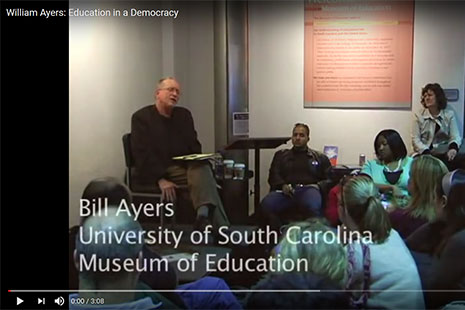 BIll Ayers Education in a Democracy