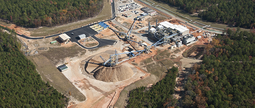 overhead view of the Savannah River National Laboratory