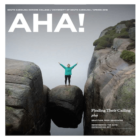 Alumni on the cover of AHA
