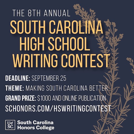 Writing Contest social media graphic