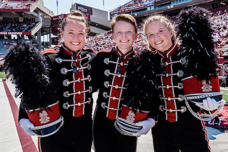 Carolina Band drum majors 2019