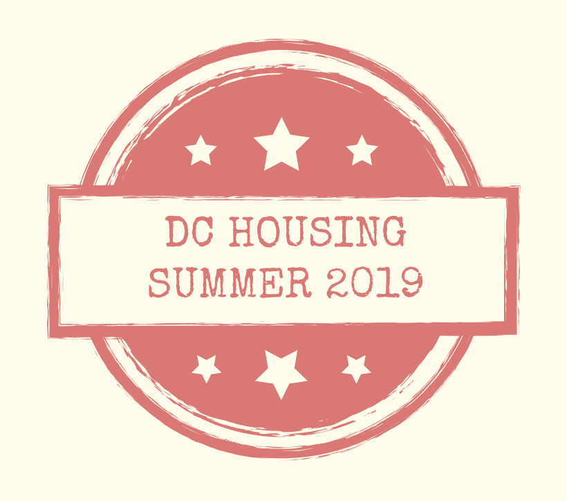 summer housing in DC