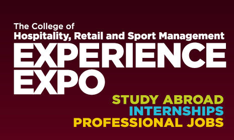 College of HRSM hosts the biannual Experience Expo