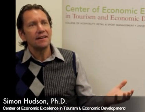 Video of Simon Hudson describing the SmartState Center