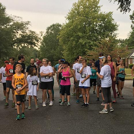 Seventy-six runners participated in the 2017 fall WIL to Run 5k.