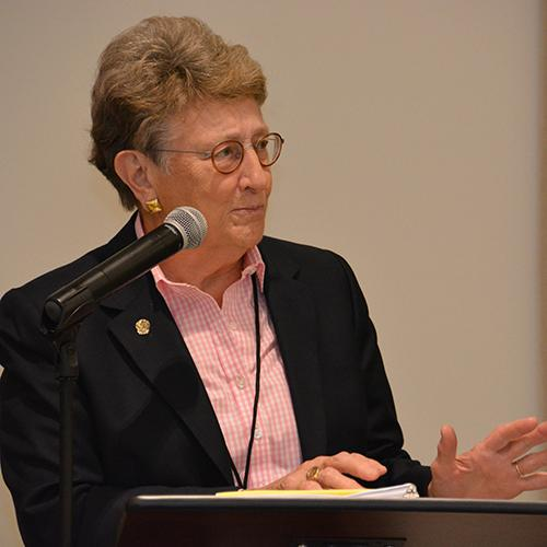 Former Chief Justice of the South Carolina Supreme Court Jean Toal gave the keynote address during Thursday's dinner.