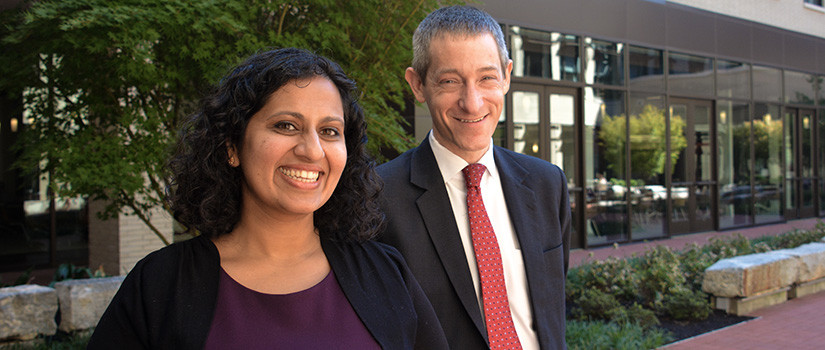 Professors Aparna Polavarapu and Josh Gupta-Kagan.