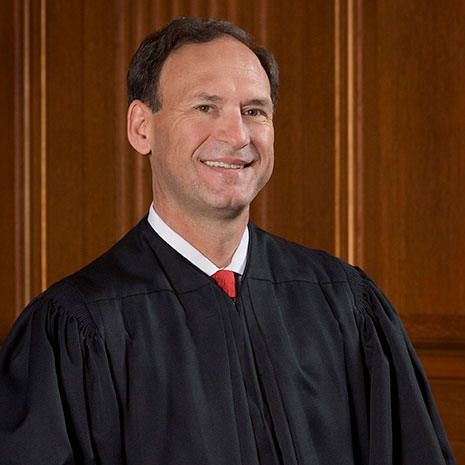 Associate Justice Samuel A. Alito of the Supreme Court of the United States