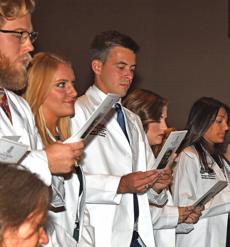 USC School of Medicine Greenville White Coat Ceremony