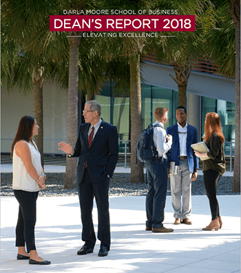 2018 Dean's Report cover