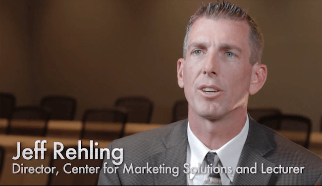 Jeff Rehling, Director, Center for Marketing Solutions