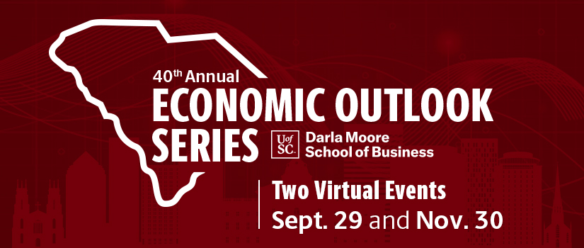 40th annual Economic Outlook Conference: two virtual events on September 29 and November 20