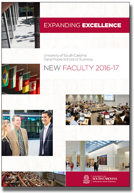 2016-17 New Faculty brochure cover