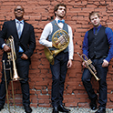C Street Brass on campus for a weeklong residency