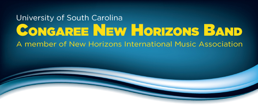 Congaree New Horizons Band logo