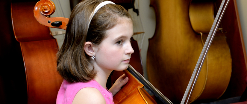 Community Music School cello student