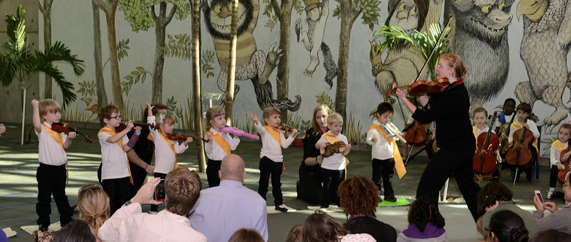 Suzuki Strings recital at Richland County Library
