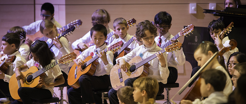 Suzuki guitar students