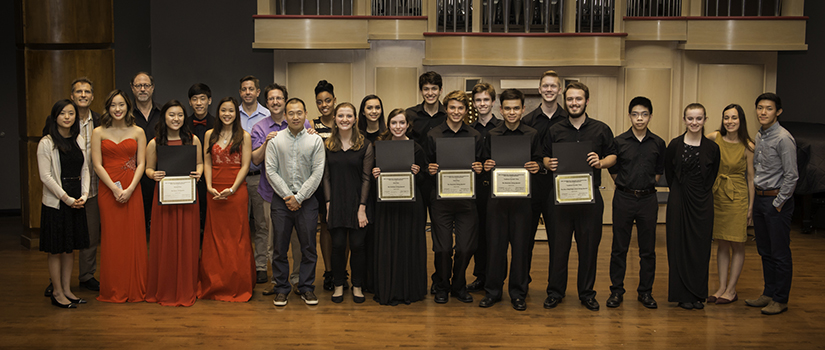 2016 Chamber Competition Winners