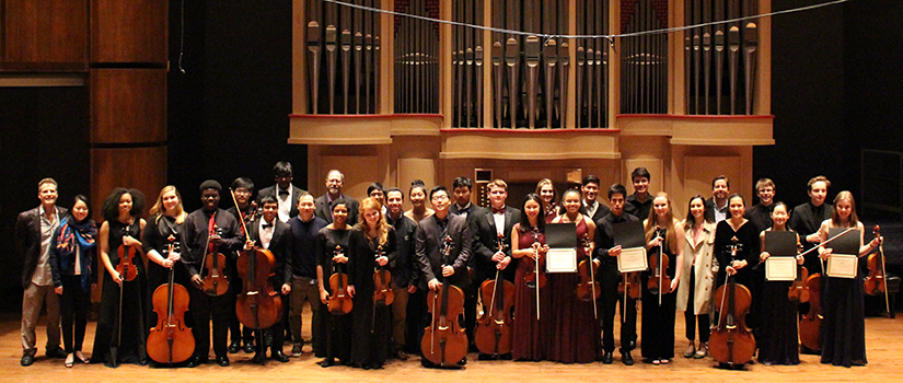 2017 Chamber Music Day participants and coaches