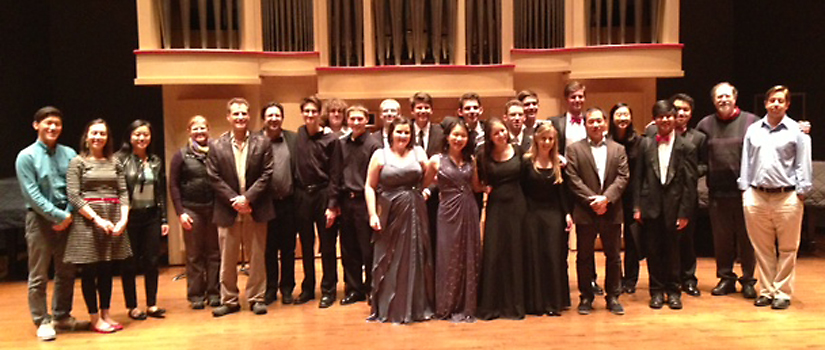 2014 Chamber Music Day competition winners