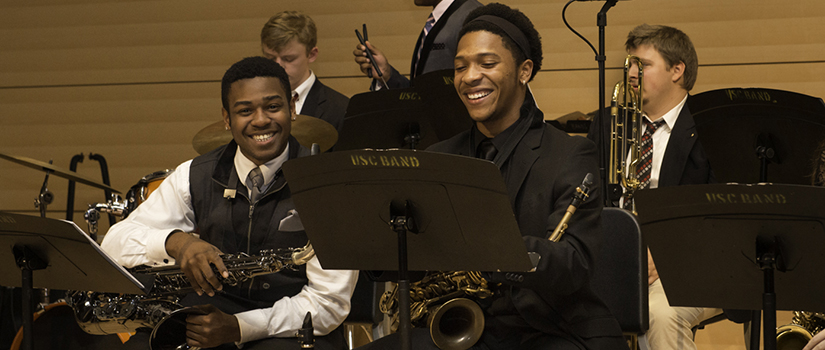 Jazz students