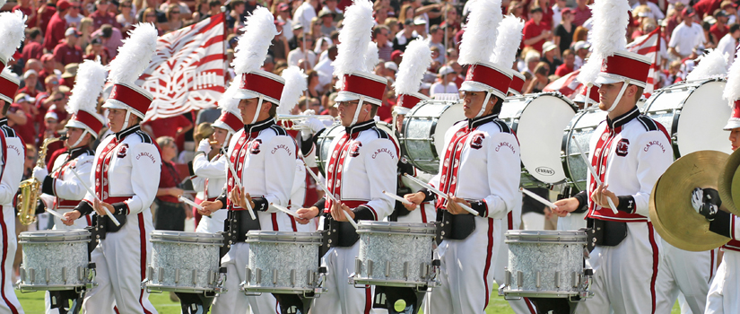 Carolina Band Drum Line