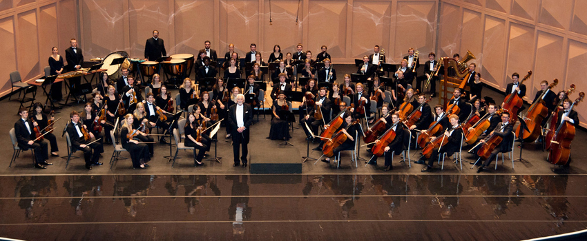 USC Symphony Orchestra at the Koger
