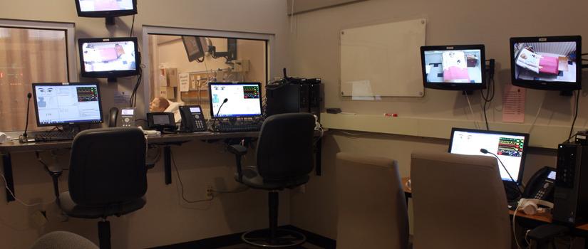 Simulation Rooms College Of Nursing University Of