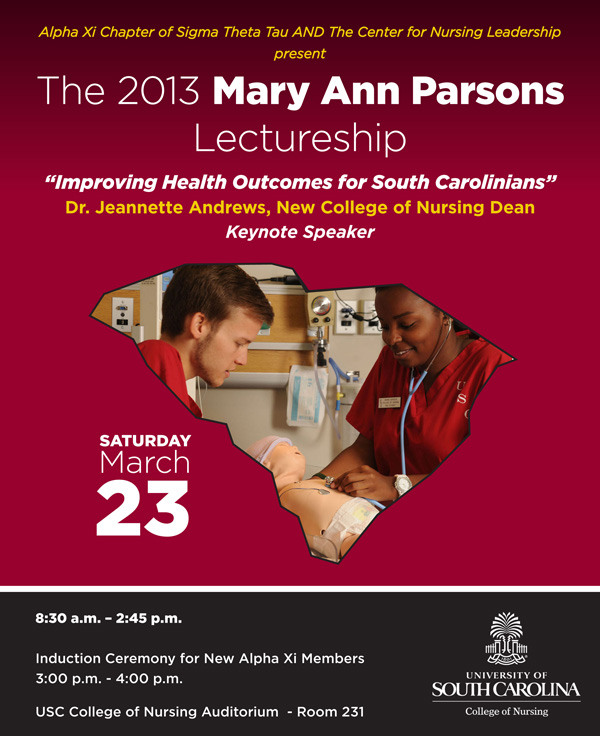 2013 Mary Ann Parsons Lectureship
