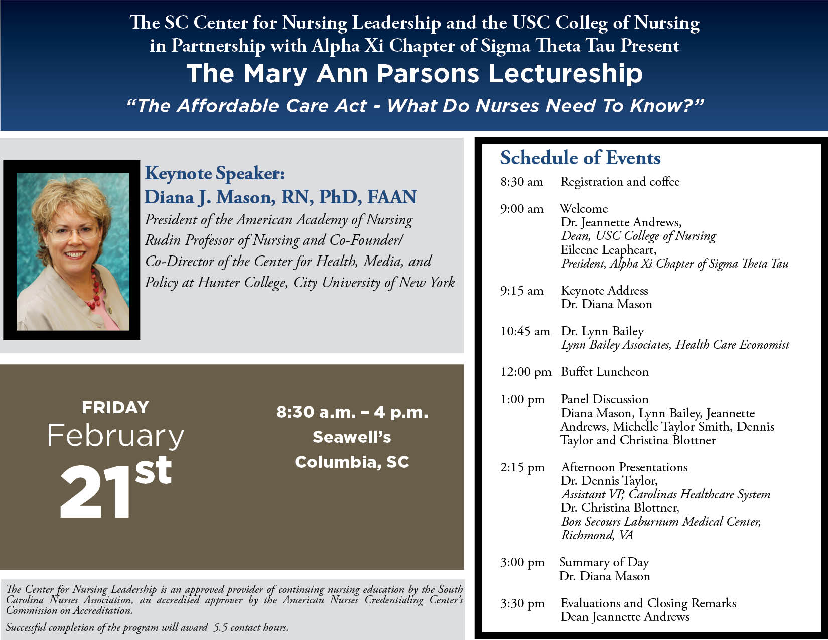 Mary Ann Parsons Lectureship
