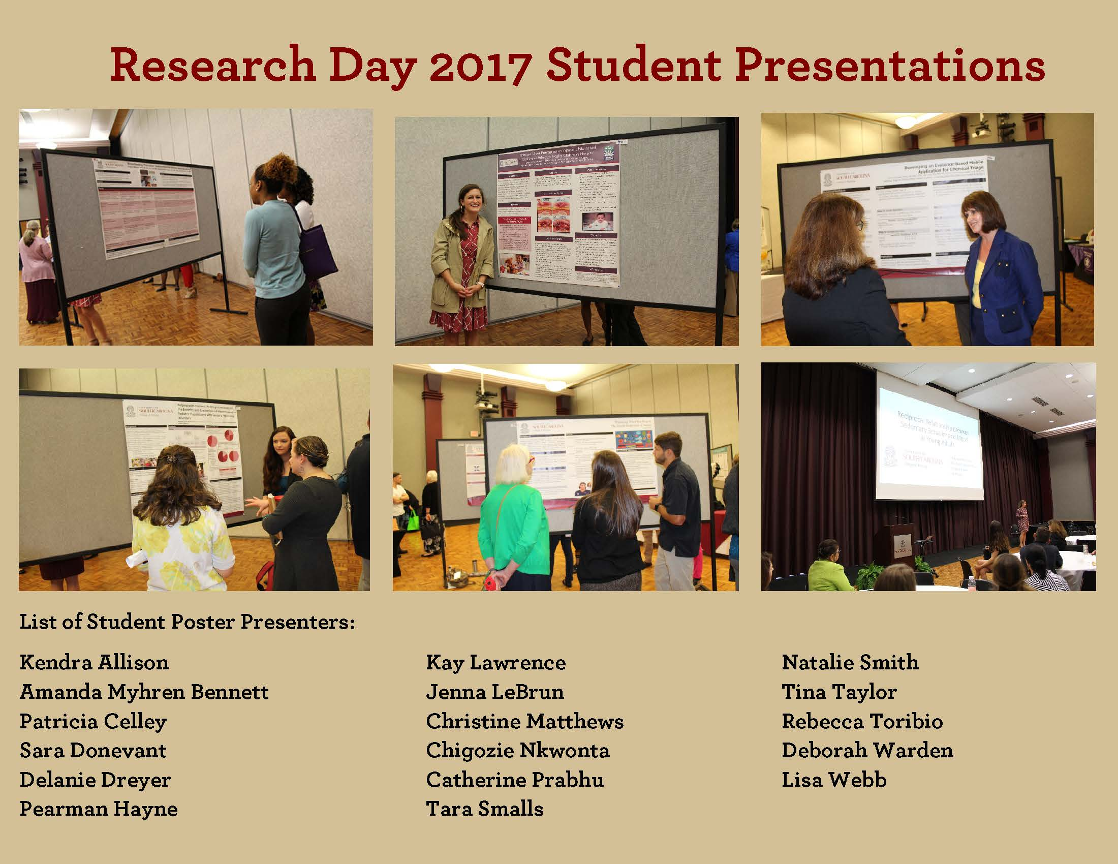 Research Day Pictures