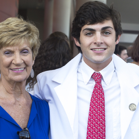 White coat recipient
