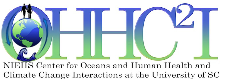 Center for Oceans and Human Health and Climate Change Interactions logo