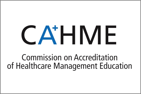 Commission on Accreditation of Healthcare Management Education (CAHME) logo