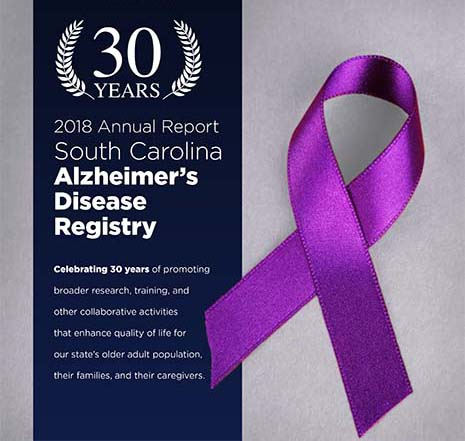 2018 Annual Report -- South Carolina Alzheimer's Disease Registry