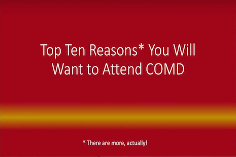 COMD 10 Reasons Video