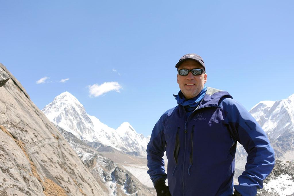 University of South Carolina alumnus Allan McLeland reached the summit of Mount Everest in May. He is one of seven people who have swum the English Channel and reached the top of Mount Everest.
