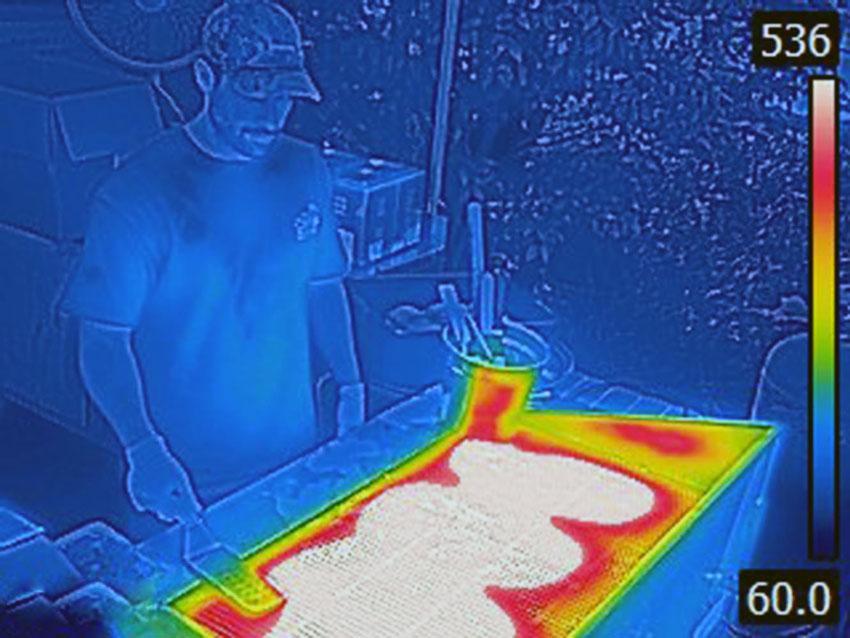 Heat imaging